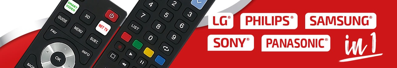 A universal smart remote control for every need, compatible